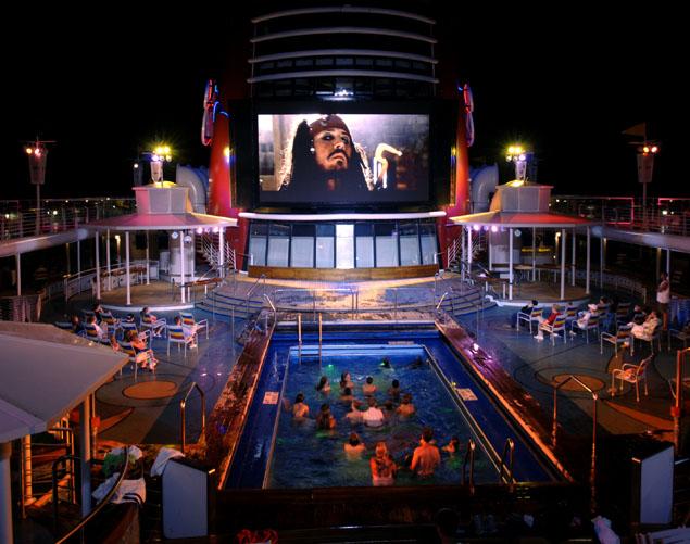 Disney Magic Cruise Ship Exterior