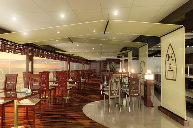 Msc Fantasia Restaurants Pin