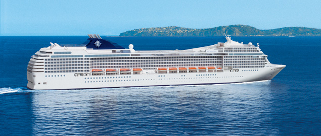 MSC Splendida Cabin 8089 - Category B1 - Bella Balcony ...