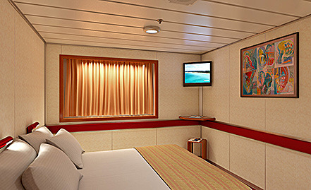 Carnival paradise cruise ship photos schedule itineraries cruise deals discount cruises for Carnival sensation interior rooms