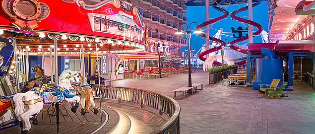 Afbeeldingsresultaat voor boardwalk symphony of the seas