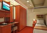 Interior Stateroom with Upper/Lower+