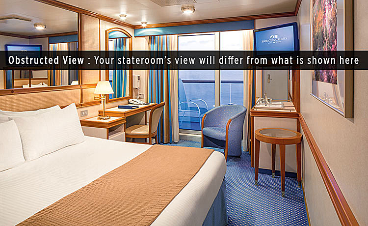 Island princess cruise ship photos schedule for Balcony cabin cruise deals
