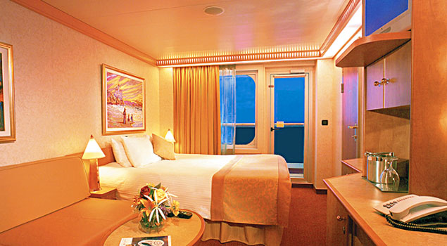 Carnival victory cruise ship photos schedule for Balcony stateroom