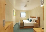 Interior Stateroom with Picture Window