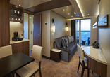 The Haven Forward-facing Penthouse with Balcony