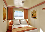 Interior Stateroom with Picture Window (Walkway View)