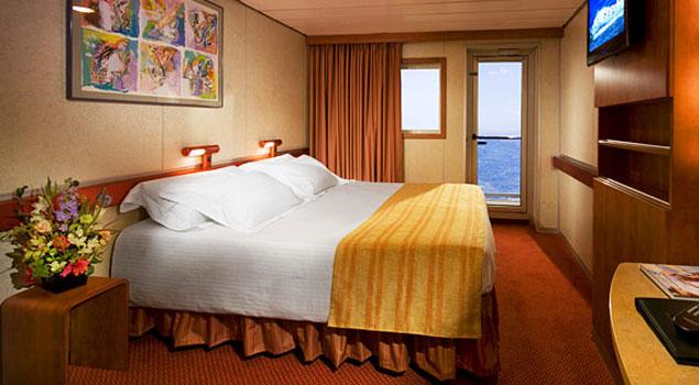 Carnival ecstasy cruise ship photos schedule for Cheap cruise balcony rooms