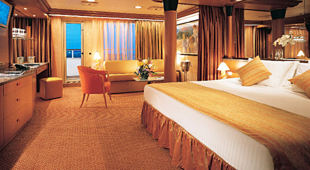 How does a balcony stateroom sleep 4 people? - CruiseMates ...