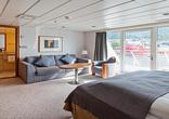 Suite on upper deck