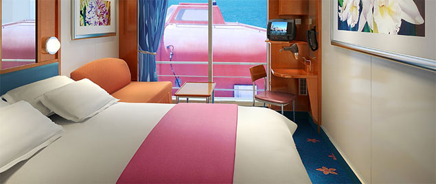 Pride Of America Cruise Ship Photos Schedule Itineraries - What is obstructed view on a cruise ship