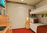 Interior Stateroom with Upper/Lower Beds