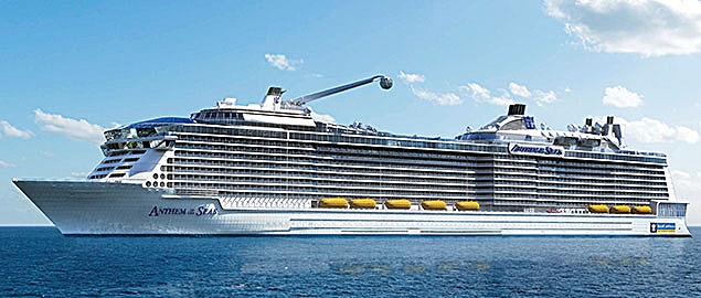 Anthem of the Seas - Deck Plans, Cruise Ship Photos, Schedule ...