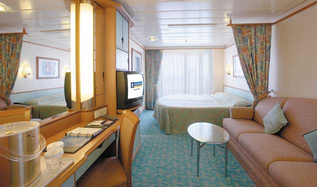 Staterooms on 4
