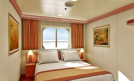 Carnival Fascination Staterooms