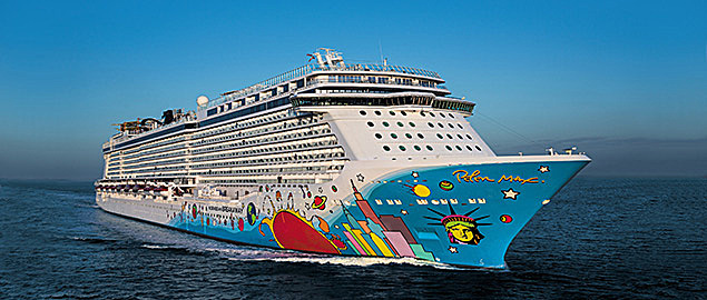 Norwegian Breakaway Cruise Ship Photos Schedule Itineraries - Cape canaveral cruise ship schedule