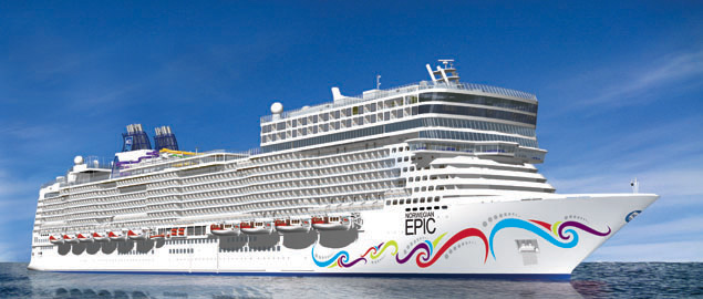 Norwegian Epic Cruise Ship Photos Schedule Itineraries - Cape canaveral cruise ship schedule