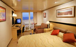 Balcony Stateroom (Obstructed View)