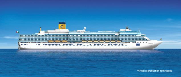 Costa deliziosa cruise ship photos schedule for Costa deliziosa ponti
